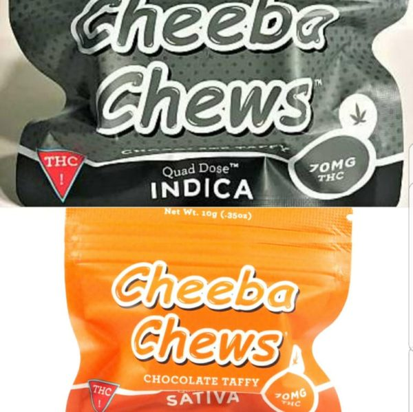 Cheeba Chews Variety 70-MG | Capsules | Cannabis Express. On-demand Marijuana Delivery in San Francisco and Bay Area. Weed, fast. Medical and Recreational available