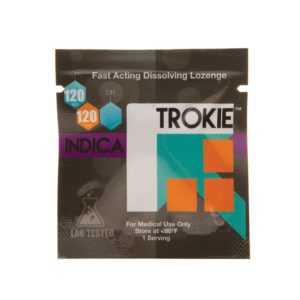 Indica-Trokie-Lozenge-120mg | Cannabis Express. On-demand Marijuana Delivery in San Francisco and Bay Area. Weed, fast. Medical and Recreational available.